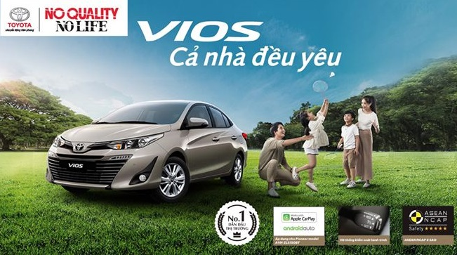 TOYOTA VIOS 2020 – NEW YEAR NEW YOU